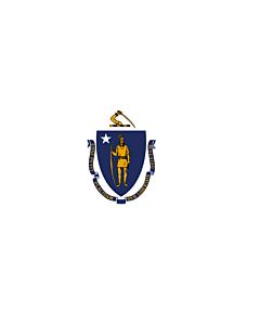 Flag: Massachusetts
