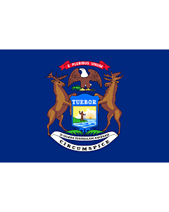 Flag: Michigan