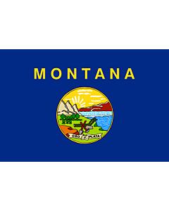 Flag: Montana