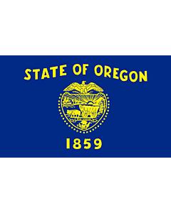 Flag: Oregon