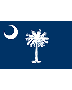 Flag: South Carolina