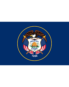 Flag: Utah