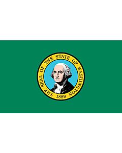 Flag: Washington