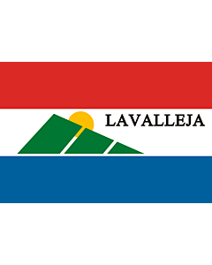 Flag: Lavalleja Department