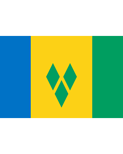 Flag: Saint Vincent and the Grenadines