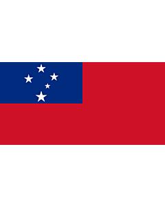 Flag: Samoa