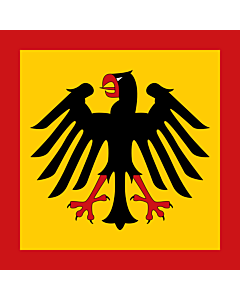Flag: Standard of the President of the Federal Republic of Germany