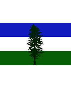 Flag: Cascadia | Cascadia, based on en Image Cascadian flag