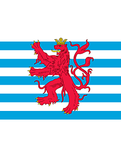 Flag: Civil Ensign of Luxembourg