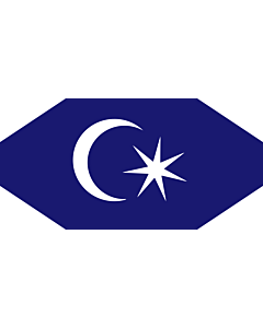 Flag: Standard of the Permaisuri of Johor, Malaysia