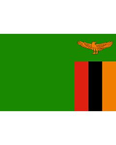 Flag: Zambia