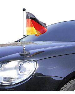 Magnetic Car Flag Pole Diplomat-1.30 Germany