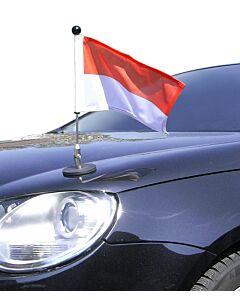 Magnetic Car Flag Pole Diplomat-1.30 Monaco