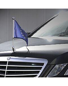 Car Flag Diplomat-Star for Mercedes-Benz executive luxury car  for Mercedes-Benz C (W204), E (W211, W212, W213), S (W221, W222)